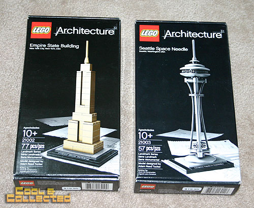 yard sale finds -- Lego Architect kits