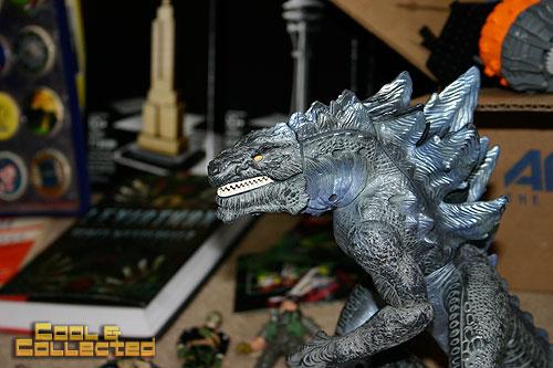 yard sale finds -- Roaring Godzilla action figure