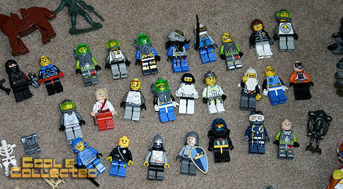 yard sale finds -- Lego minifigs collection
