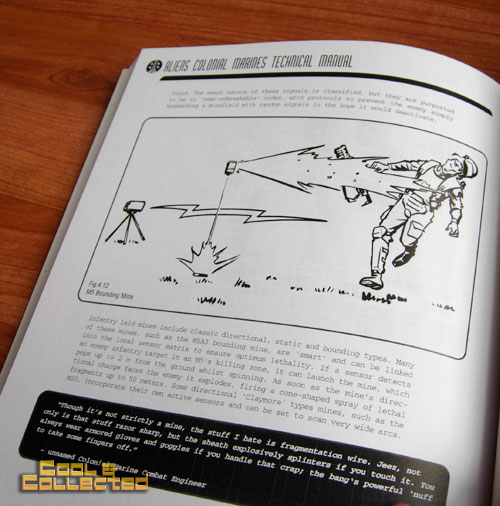 Aliens Colonial Marines Technical Manual by Lee Brimmicombe-Wood