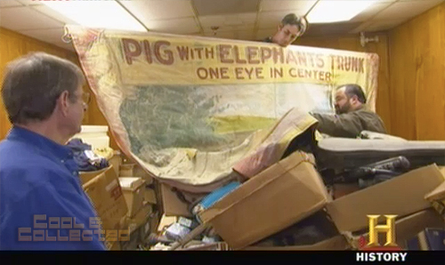 american pickers - carnival banner