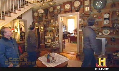american pickers - clock collection