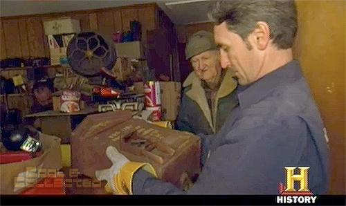 american pickers - fire call box