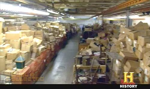 american pickers - warehouse