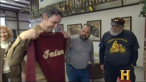 american pickers indian sweater