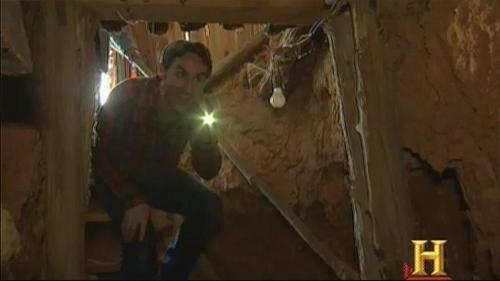 american pickers mine shaft