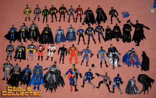 batman action figure collection for sale