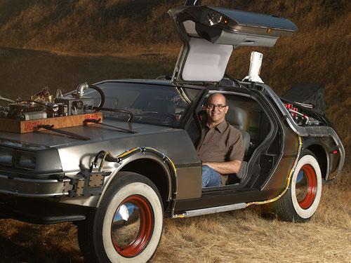 Desi DosSantos - Back to the Future DeLorean