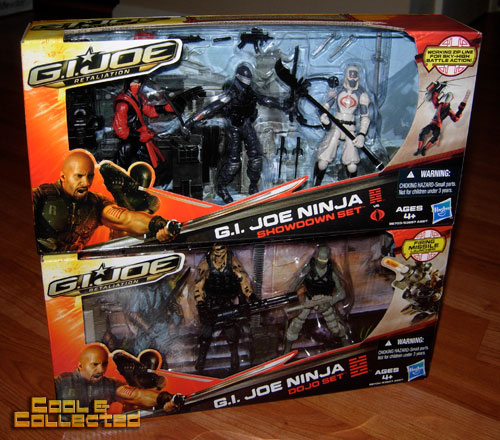 G.I. Joe Retaliation action figure sets