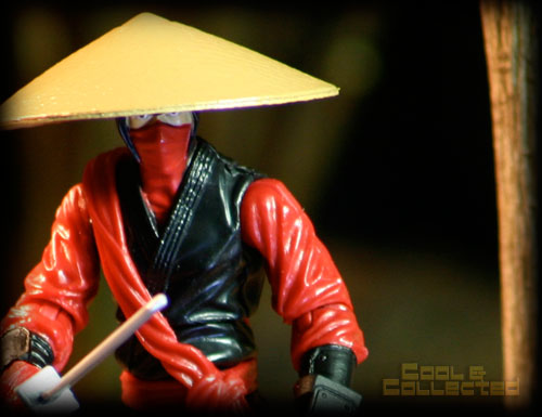 G.I. Joe Retaliation red ninja action figure