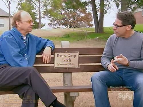 hollywood treasure forrest gump bench