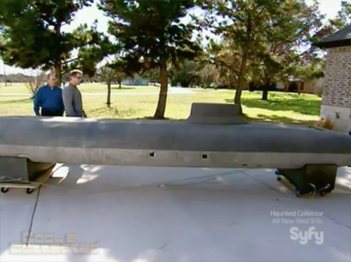 hollywood treasure hunt for red october submarine prop