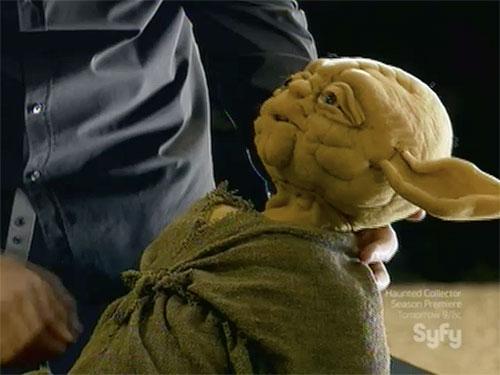 hollywood treasure Star Wars yoda puppet