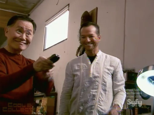 hollywood treasure x marks the prop star trek phaser george takei
