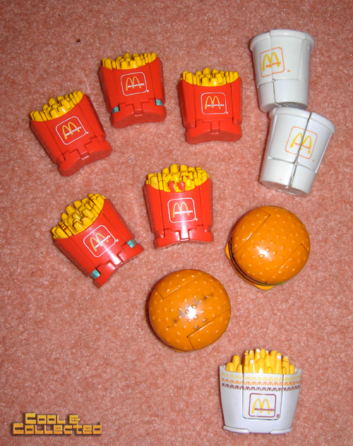 collection of McDonalds toys for sale