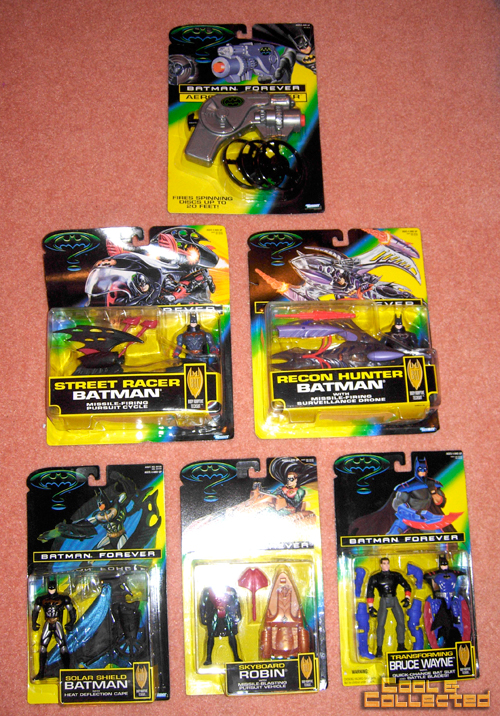 collection of Batman toys for sale