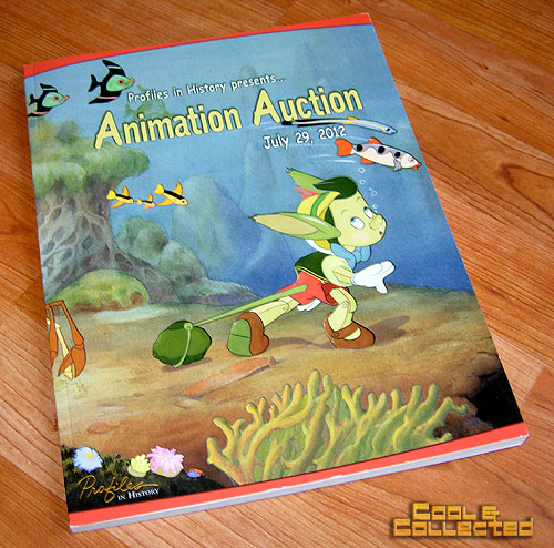 profiles in history animation auction catalog
