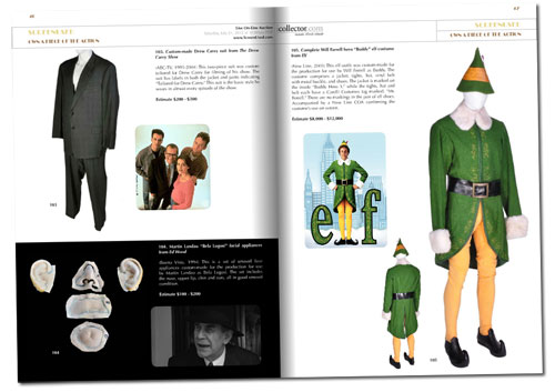 screenused catalog elf costume