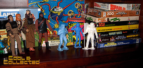vintage toy collection - Planet of the Apes and Spacemen