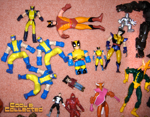 whats in the box -- Wolverine action figures