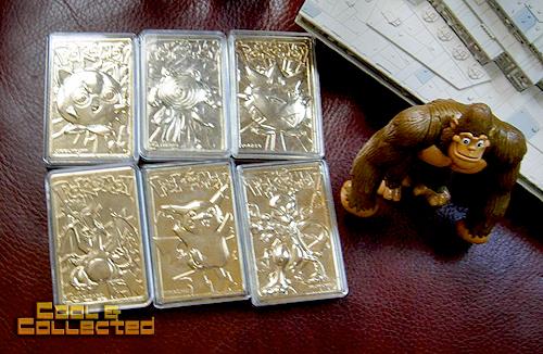 yard sale finds -- Pokemon gold cards