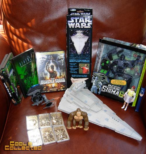 yard sale finds -- star wars star destroyers