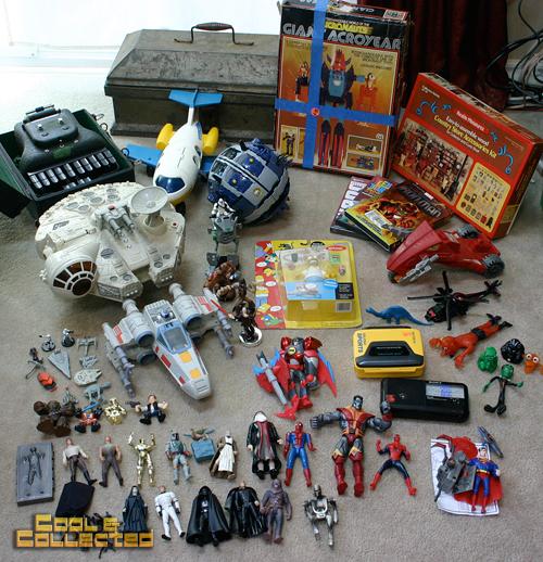 yard sale finds - vintage toy haul
