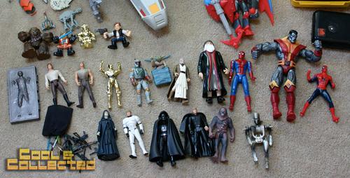 yard sale finds star wars action figure