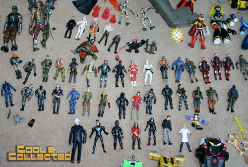 yard sale finds gi joe action figures and vehicles