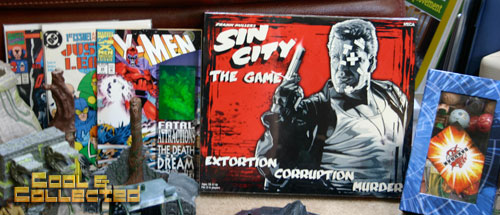 yard sale finds sin city neca board game