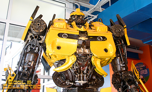 baltimore ripley's believe it or not museum of oddities transformers bumblebee