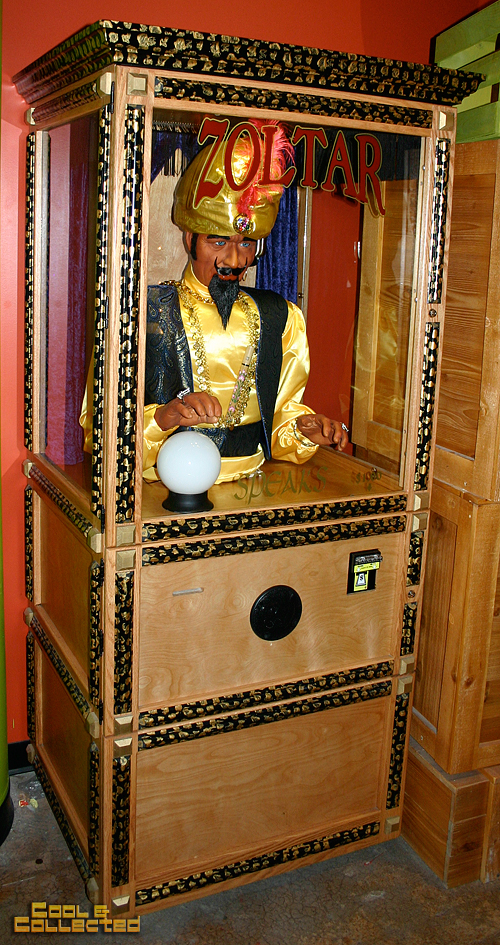 baltimore ripley's believe it or not museum zoltar big fortune teller machine