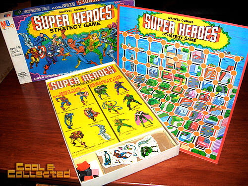 marvel super heroes strategy board game
