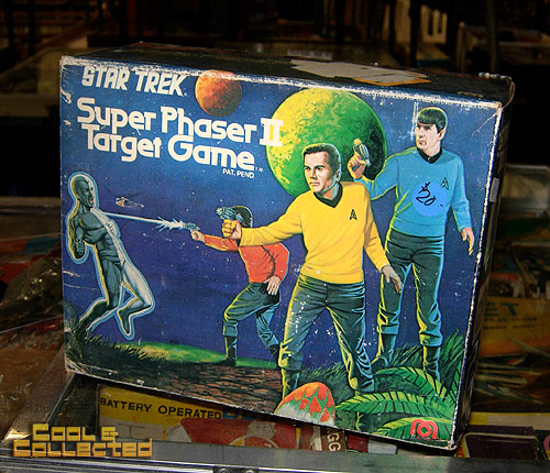 big flea market star trek phaser game