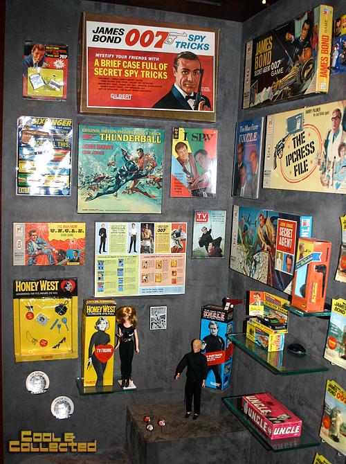 geppi's vintage james bond toys