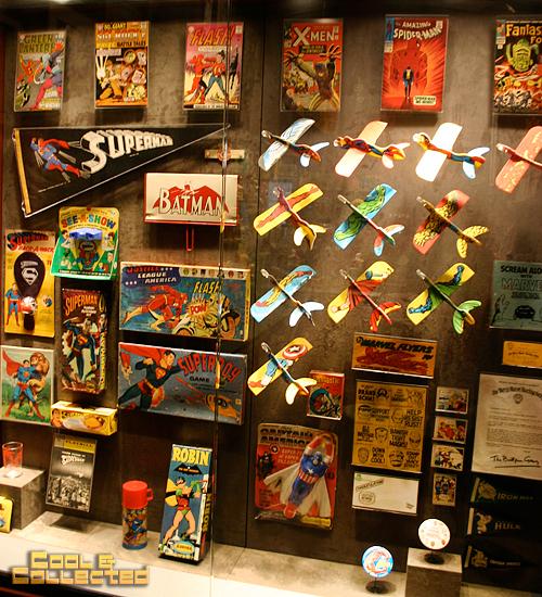 geppi's vintage super hero toys