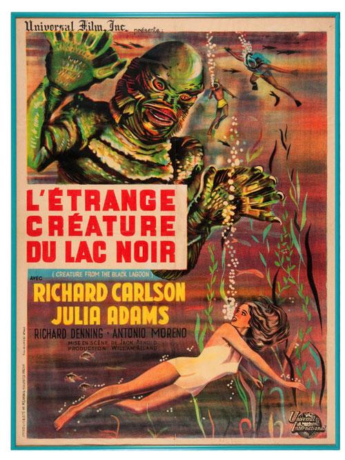 hakes creature black lagoon poster