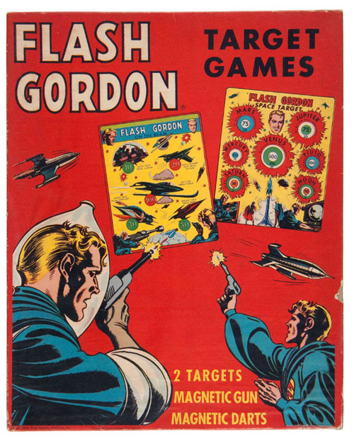 hakes flash gordon target game