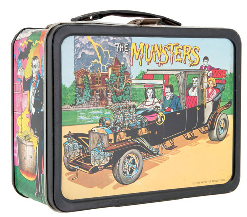 hakes munsters lunchbox