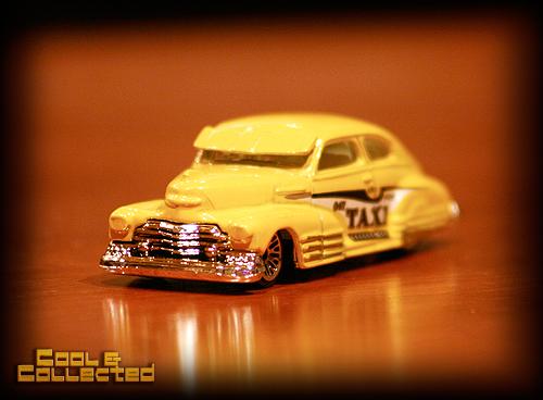 hotwheels taxi collectible diecast car