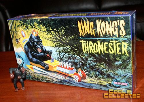 king kong thronester polar lights model kit