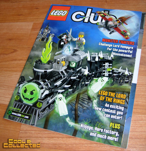 lego club magazine - monster fighters