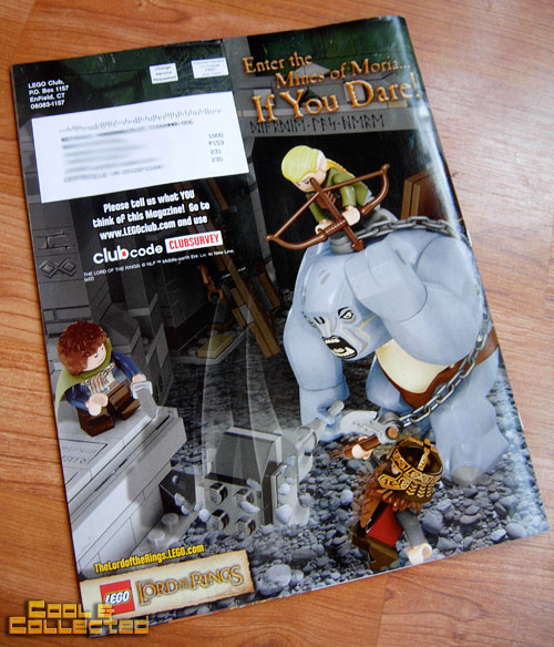lego club magazine - Lord of the Rings