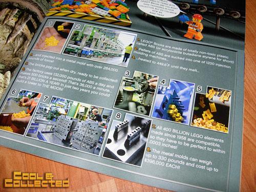 lego club magazine - How LEGOs are made