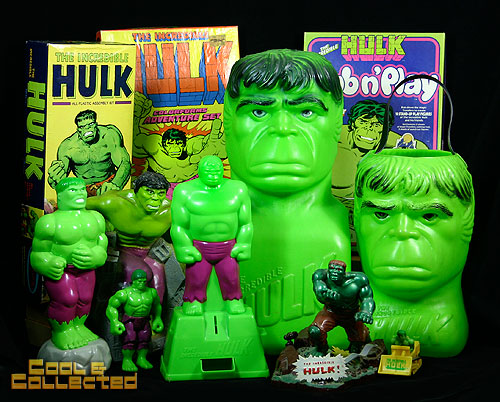 vintage hulk collection