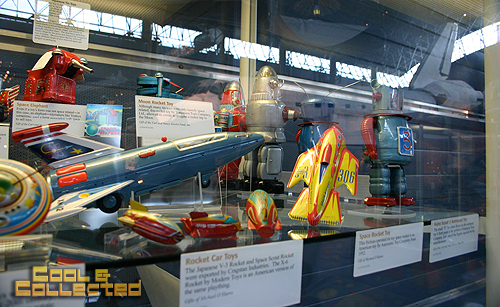 air and space museum space toys and space shuttle