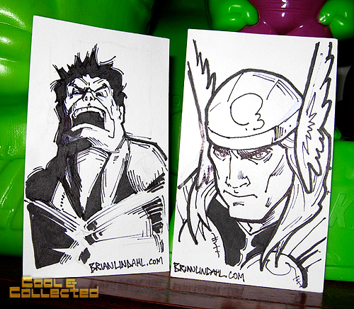 brian lindahl sketch cards