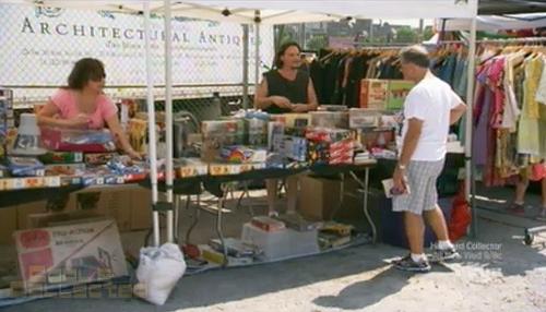 collection intervention - vintage G.I. Joe flea market sale