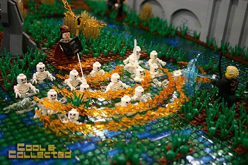 Lego skeleton summoning