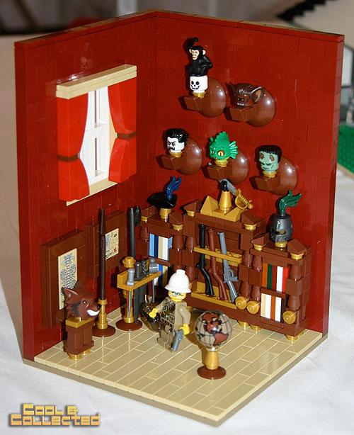 Lego trophy room